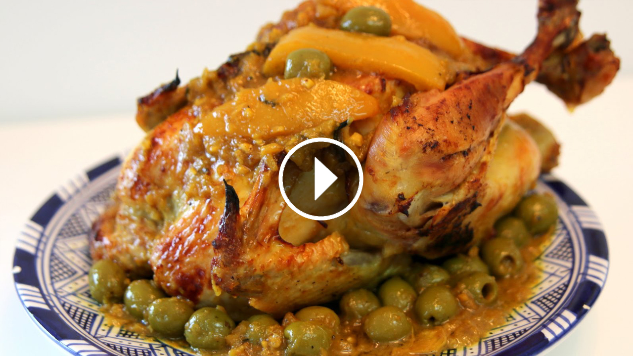 Chicken with Olives and Preserved Lemons | Recipes & Cooking Tips